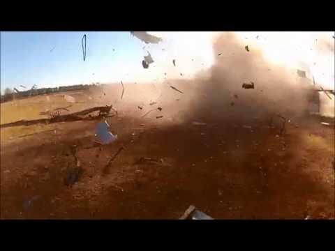 Commuter Train Explosion