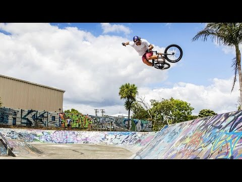 BMX Park Sessions and New Zealand Adventures - Red Bull Tip to Tail - EP2