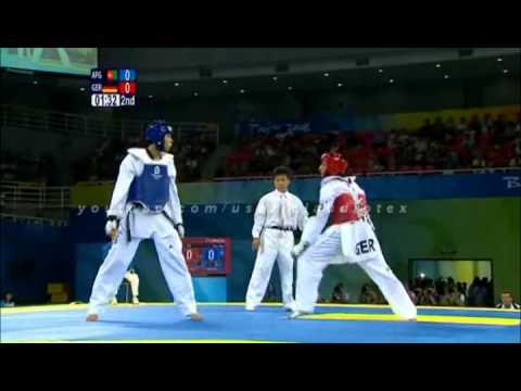 Taekwondo best kicks beijing 2008