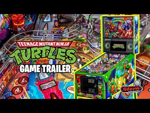 Ninja Turtles Pinball - il Trailer del nuovo flipper Stern
