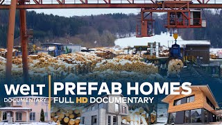 PREFAB HOMES - The Journey From Tree To House   Full Documentary
