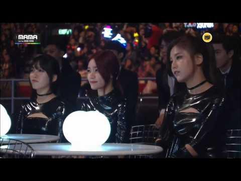 141203 마마(mama) 방탄소년단+블락비 합동무대,danger