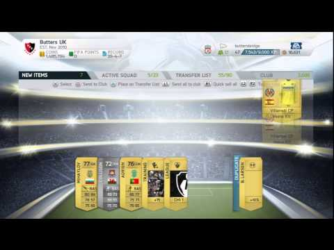 Fifa 14 Ultimate Team || Thursday Pack Night Episode 5