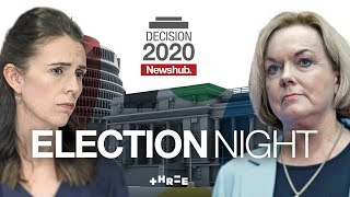 NZ election results coverage from Newshub   Decision 2020