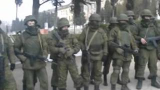 Украинские офицеры не допустили вывоз оружия с учебного отряда ВМС Украины (Севастополь)