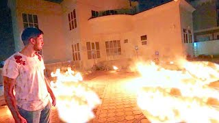 MY HOUSE ON FIRE *NEIGHBOURS CALLED THE POLICE* !!!