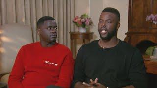 'Black Panther': Winston Duke and Daniel Kaluuya (FULL INTERVIEW)