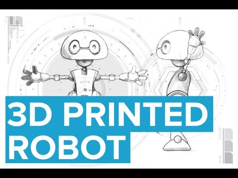 You Can 3D Print a Robot