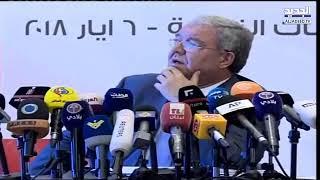 وزير الداخلية يعلن نتائج الانتخابات     -