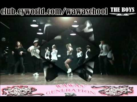 WAWA DANCE ACADEMY SPECIAL GIRL'S GENERATION THE BOYS DANCE STEP