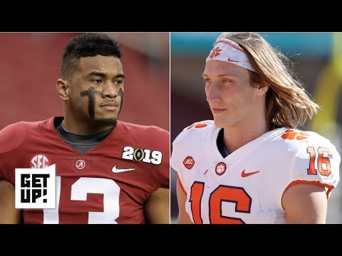 Where Tua Tagovailoa, Trevor Lawrence would go in 2019 NFL draft | Get Up!