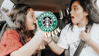 LETTING STARBUCKS BARISTA PICK OUR DRINKS!