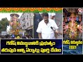 Minister Talasani Srinivas Yadav F2F Over Arrangements Of Ganesh Immersion | MGM Market | V6 News