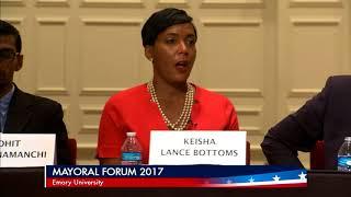 Keisha Lance-Bottoms talks traffic at the Atlanta Mayoral Forum
