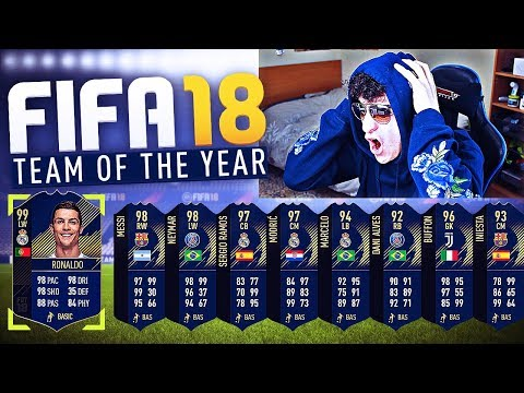 FIFA 18 - 99 TOTY RONALDO & 98 TOTY MESSI IN A PACK! (FIFA 18 TOTY PACK