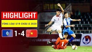 Highlight trận U19 Việt Nam - U19 Guam: Thắng nhọc nhằn Guam, hẹn đại chiến Nhật Bản | FullHD