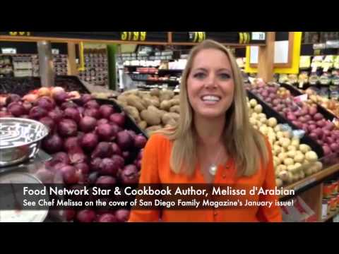 San Diego Family and Food Network Star, Chef Melissa d'Arabian