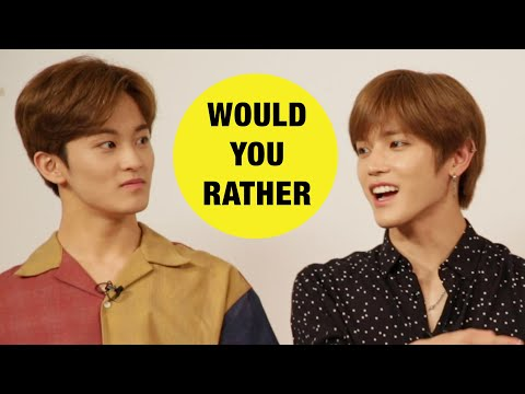 NCT 127 Plays Would You Rather