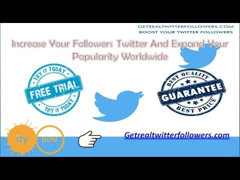 How To Get Twitter Followers Fast And Cheap | Getrealtwitterfollowers.com(2018)