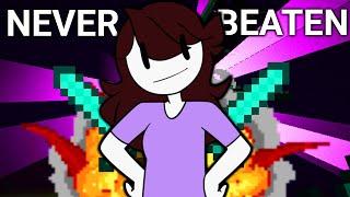 She's NEVER Beaten Minecraft! - ft. JaidenAnimations