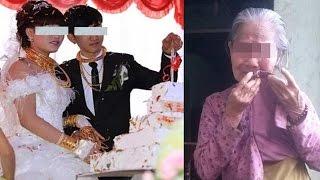 Mẹ nghèo lẻn vào đám cưới để trao 2 chỉ vàng cho con gái và cái kết nghẹn ngào
