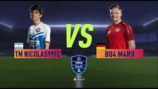 FIFA 18 Playstation Global Series Grand Final Amsterdam 🏆 TM Nicolas99FC vs B04 M4RV