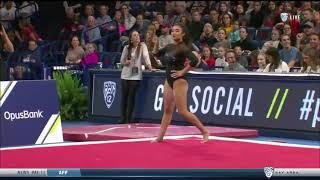 Felicia Hano 2018 Floor at PAC-12 Championships 9.900