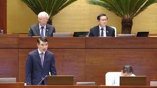 Tin Tức 24h :  Tiếp tục phiên chất vấn Thống đốc Ngân hàng Nhà nước Lê Minh Hưng