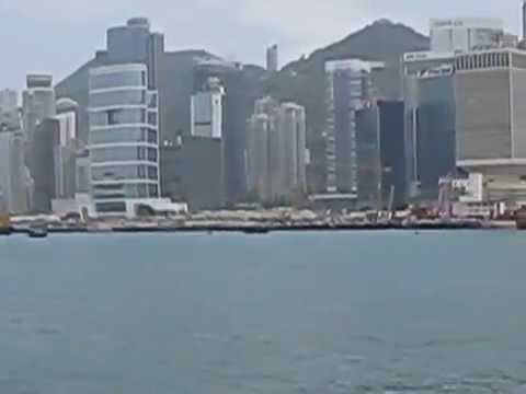 Viewing the incredible Hong Kong skyline aboard the Duk Ling junk