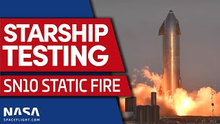 SCRUB: Starship SN10 Static Fire Test Scrubbed