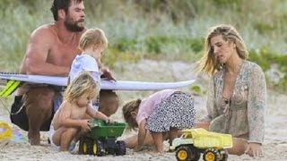 Chris Hemsworth And Elsa Pataky's Kids And Their Beautiful Moments