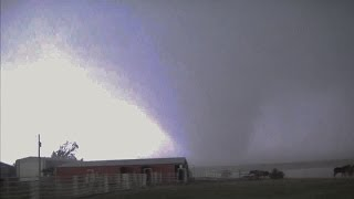 El Reno, Ok EF5 Wedge Tornado Escape May 31, 2013