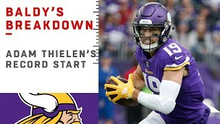 Why Adam Thielen is UNSTOPPABLE | NFL Film Review