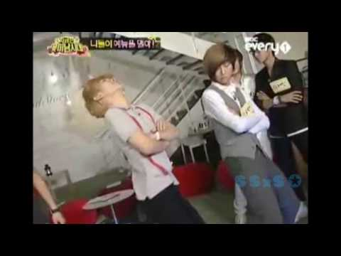Key, Jonghun, and Seunghyun dancing to Abracadabra