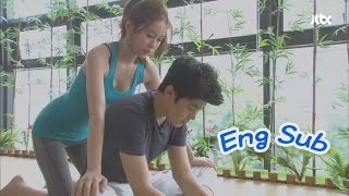 [Eng Sub] Can't stand it any more 19- Secret gym date with a sexy trainer girlfriend