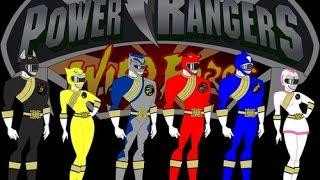 Trò chơi Siêu nhân Gao 3D biến hình Robot siêu thú - game power ranger wild force Gaorangers ps1
