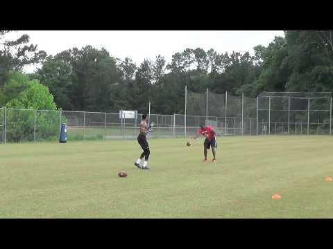 WR Tyler McDonald Workout Video