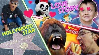 JUNGLE BOOK CONVERSATIONS! (FV Family Random Vlog: LA/San Diego Zoo)