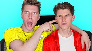 The SIBLING TAG CHALLENGE with Brothers (WATCH TILL THE END 😂 ) | Collins Key