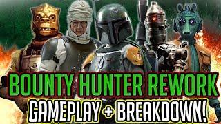 Bounty Hunter Reworks Gameplay Unveiling + Breakdown! | Star Wars: Galaxy of Heroes