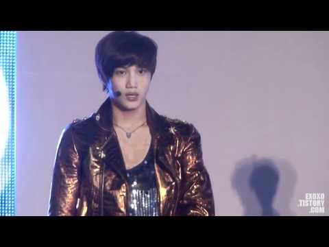 120602 EXO-K KAI Focus (CUT) @ Genie AR Show 영상쇼