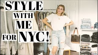 Style with Me for Fall   Cold weather outfits!