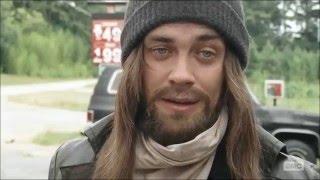 The Walking Dead 6x10 Daryl and Rick meet Jesus aka Paul Rovia