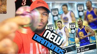 NBA 2k17 MyTEAM - Ultimate Fidget Spinner! Multiple Diamond Pulls! New 98 Finals MVP KD + Steph!