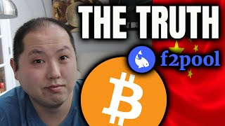 THE TRUTH BEHIND F2POOL'S BITCOIN DUMPING!!!