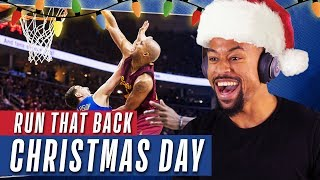 Top 12 Plays of NBA Christmas Day | Reactions