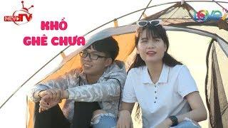 Lần đầu không chửi chồng - Hot face Thanh Trần cùng chồng lãng mạn dựng lều hưởng trăng mật bãi biển