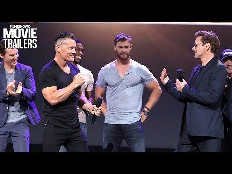 Avengers: Infinity War | Meet The Cast with Robert Downey Jr. & Josh Brolin