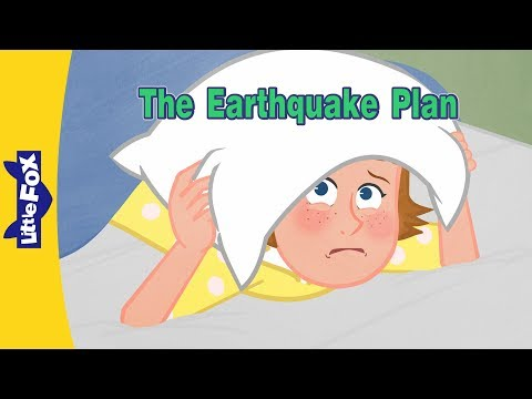 The Earthquake Plan | Family | Little Fox | Animated Stories for Kids