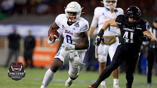 Tulsa Golden Hurricane vs. Cincinnati Bearcats | AAC Championship | College Football Highlights